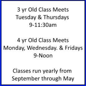 Little Learners Schedule